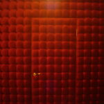 Каретная стяжка красная