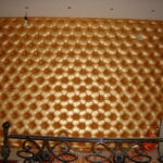 Каретная стяжка под золото