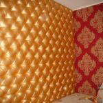 Каретная стяжка золотая