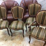 Реставрация мебели четыре стула