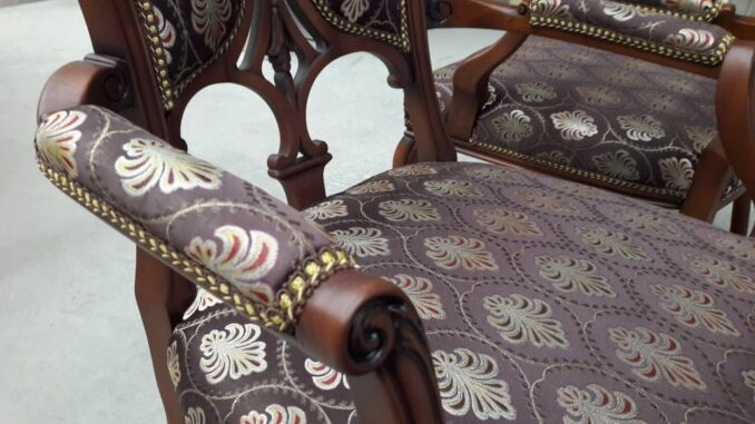 Реставрация мебели пример