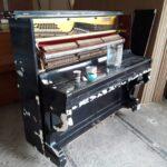 Процесс реставрации пианино