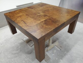 Стол после реставрации
