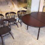 Стол и стулья реставрация