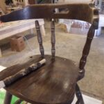 Ножки стула - реставрация
