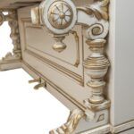 Пианино белое на реставрации