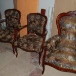 Реставрация мебели три кресла